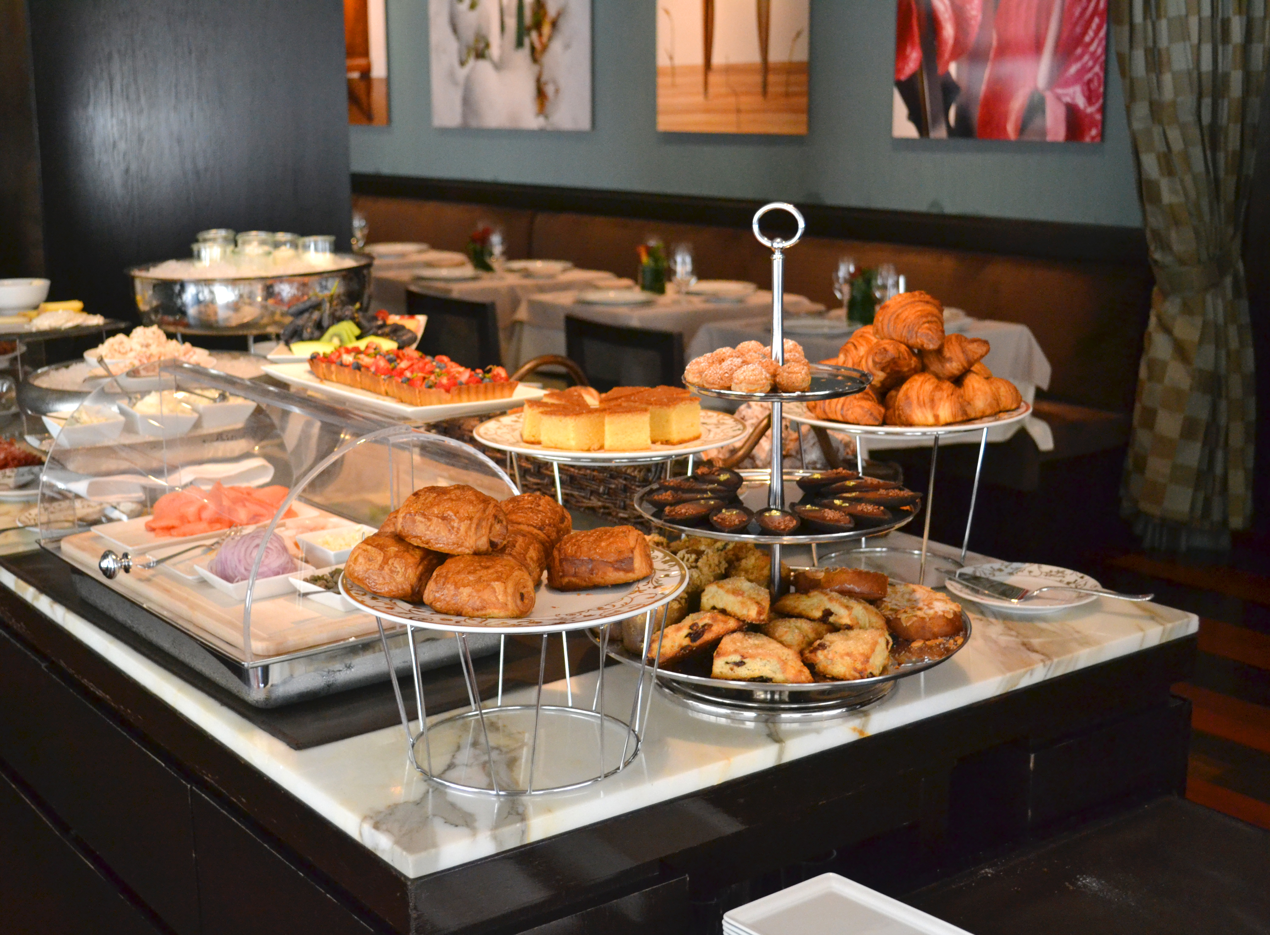 What is brunch like at ai fiori new york city for Table 52 sunday brunch