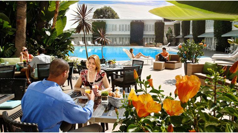 The Beverly Hilton Circa 55 and Aqua Star Spa Lounge