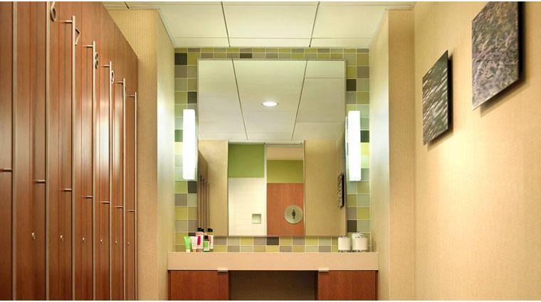 The Beverly Hilton Aqua Star Spa Locker Room