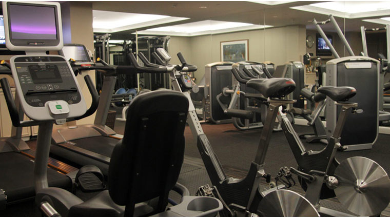The Little Nell Fitness Room