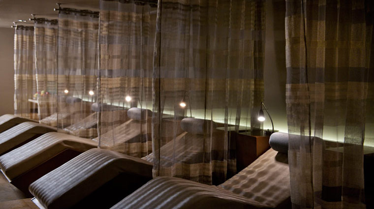 The Spa at Mandarin Oriental Miami Relaxation Room