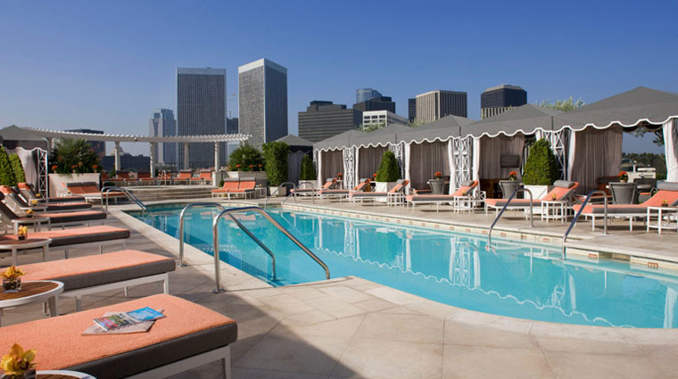 The Peninsula Spa Rooftop Pool