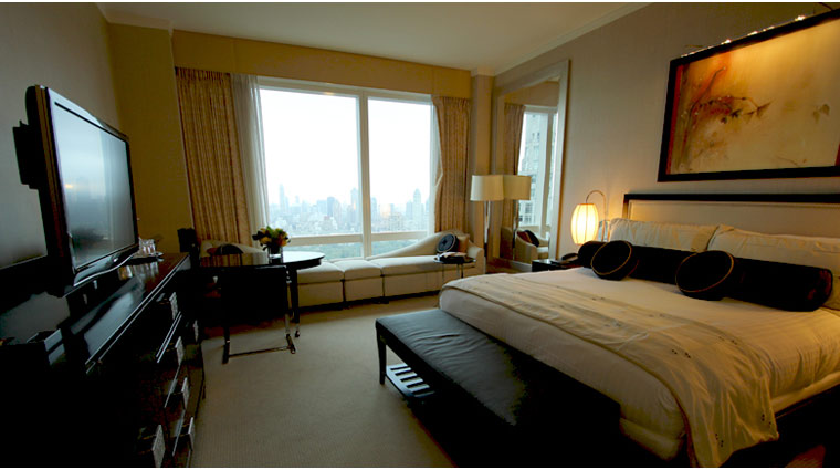 Mandarin Oriental New York Central Park View Room Guestroom
