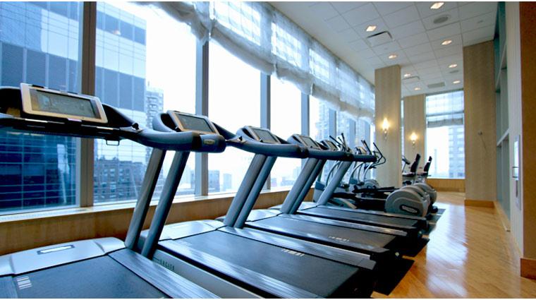 Mandarin Oriental New York Exercise Machines