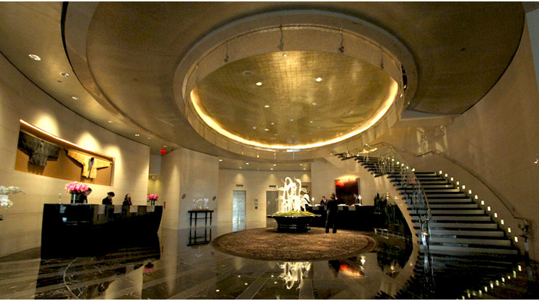 Mandarin Oriental New York Foyer