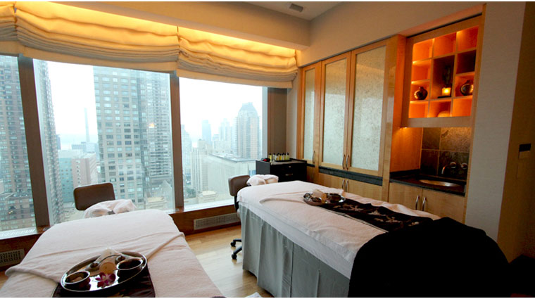 The Spa at Mandarin Oriental, New York Treatment Room Beds