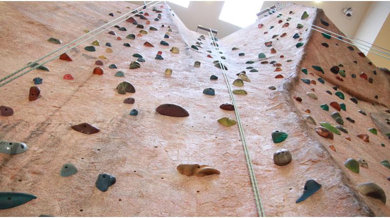 Canyon Ranch SpaClub at The Venetian & The Palazzo Rock Climbing Wall