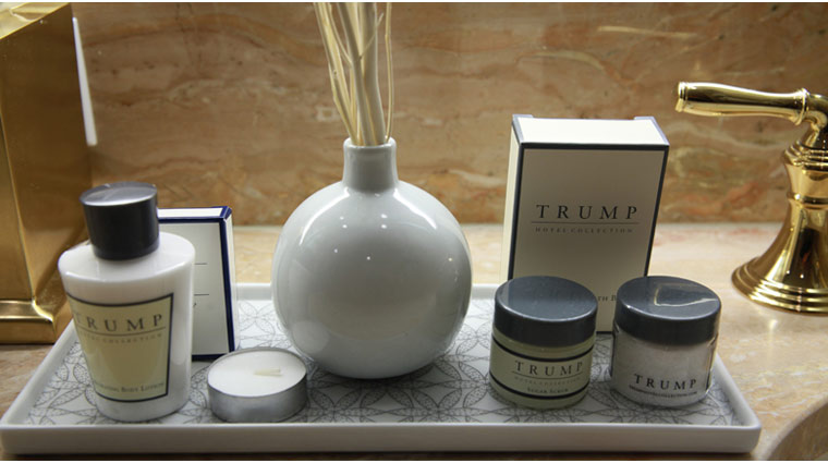 What bath products does Trump New York offer? - New York City Hotels ...