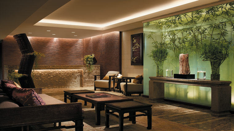 The Peninsula Spa by ESPA Hong Kong Reception Lounge