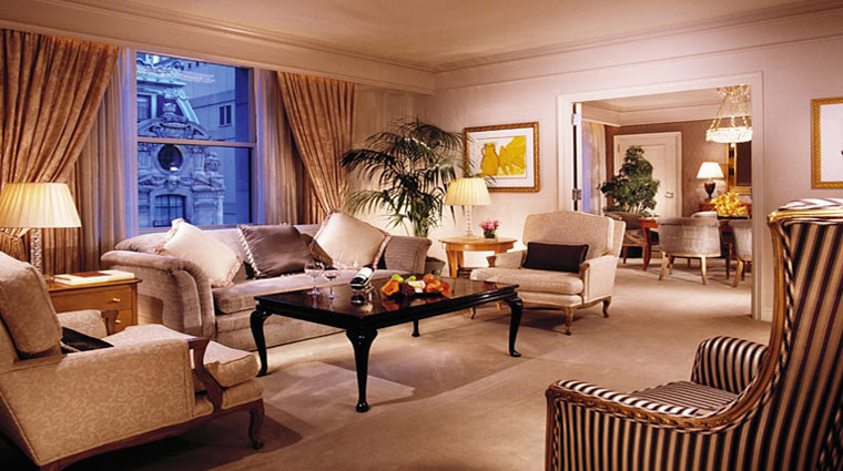 what are the suites like at the peninsula new york new